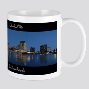 Columbus Ohio Skyline Mugs